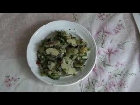 Рецепт Зеленый летний салат.