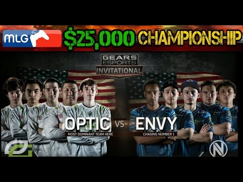 GEARS OF WAR 4 | CHAMPIONSHIP | OPTIC GAMING vs ENVY | eSPORTS INVITATIONAL| (WHO WINS THE MONEY?!!)