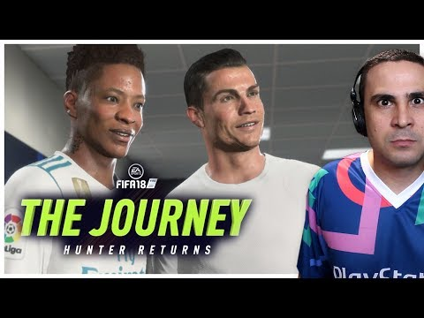 Γνώρισα Τον Ronaldo! (Fifa 18: The Journey)