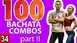 Bachata Tutorial 34: 25-50 Bachata Combos (Marius\\u0026Elena Bachata)