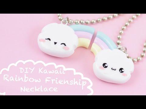 sur des coups de pieds de vente moins chère beaucoup de choix de Comment faire un collier de l'amitié Arc-en-ciel en fimo ...