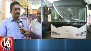 TSRTC Plans To Introduce Electric Buses In Hyderabad City | V6 News