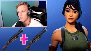 TFUE SHOWS YOU 'DOUBLE PUMP' EXPLOIT 'AFTER SEASON 5 PATCH! (Fortnite Funny Twitch Moments)