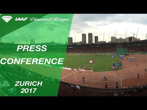 IAAF Diamond League, Zurich 2017 - Press Conference
