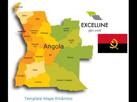 Mapas Dinâmicos   Angola