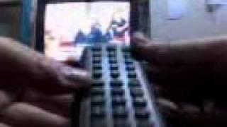 programando control remoto universal  RM-V3