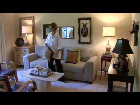 How to Decorate Your Living Room in Cottage Style - YouTube