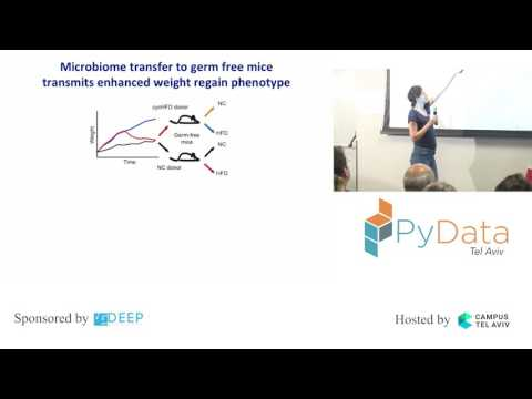 PyData Tel Aviv Meetup: Machine Learning Applied to Mice Diet and Weight Gain - Daphna Rothchild