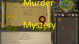 OSRS Quests - Murder Mystery