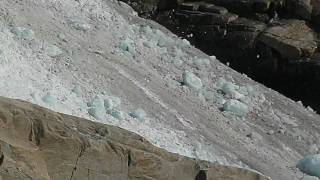 Briksdal glacier falling apart