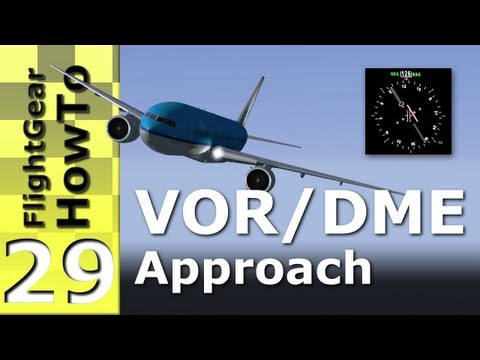 VOR/DME Approach - FlightGear HowTo #29