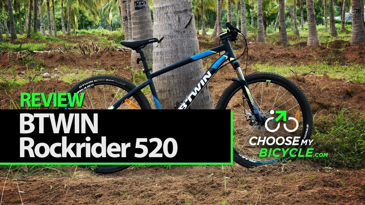 8489354d6 Btwin Rockrider 520 Mountain Bike (2017)  ChooseMyBicycle.com Expert Review