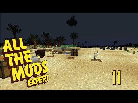 All The Mods Expert - 11 - PROCESSING OSMIUM INGOTS