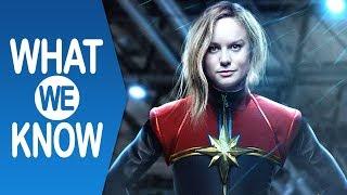 CAPTAIN MARVEL (2019) | Cosa sappiamo fino ad ora del film sulla supereroina Marvel