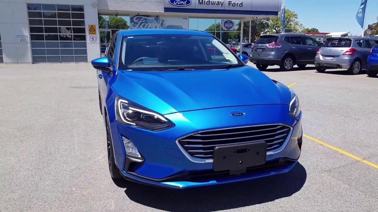 New 2019 Ford Focus Sa Titanium In Desert Island Blue