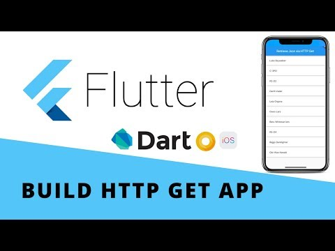 Flutter - Build An App To Fetch Data Online Using HTTP GET | Android & iOS