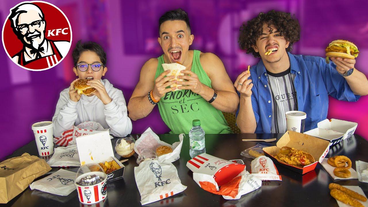 Download ON MANGE TOUTE LA CARTE KFC (+10'000 calories)