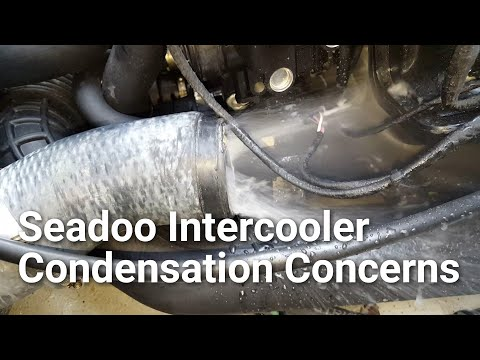 Seadoo Supercharged Intercooler Water Service YouTube