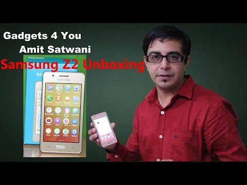 Samsung Z2 Unboxing[Hindi]