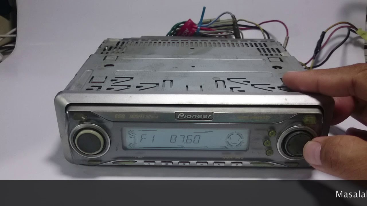 Pioneer Deh P6700mp Wiring Harnes