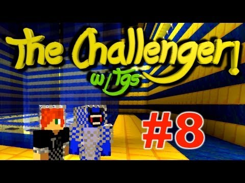 MINECRAFT Custom Map: The CHALLENGER - Ep.8 - Multiplayer CO-OP w/ Theguyshark and Theguyordie