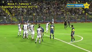 Boca 2 - Talleres Cba 1/ Superliga 2017-18