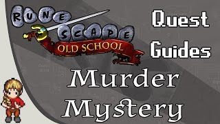 2007 Old School RuneScape OSRS Detailed Quest Guide - Murder Mystery