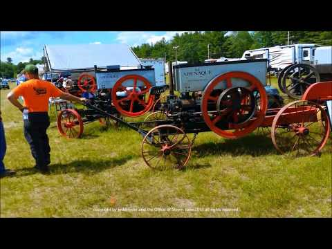Orange, Mass Enginuity Engine Show 2017 Featuring Abenaque Gas Engines