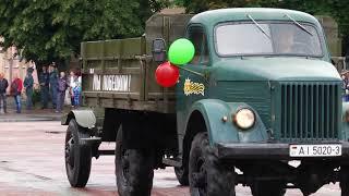 Парад в честь Дня независимости в Калинковичах
