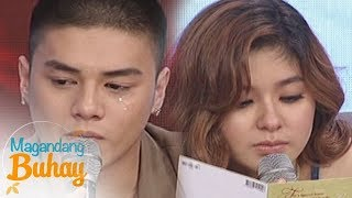 Magandang Buhay: Loisa and Ronnie become emotional