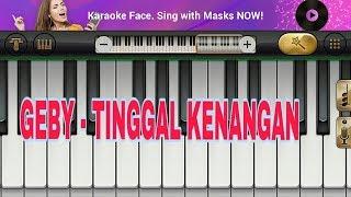 NOT PIANO GABY - TINGGAL KENANGAN TERBARU 2019