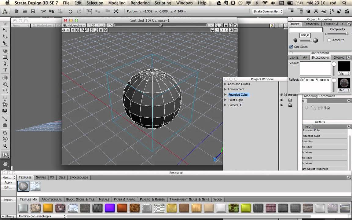 Anisotropía En Strata Design 3D SE 7 -- Miedito.org