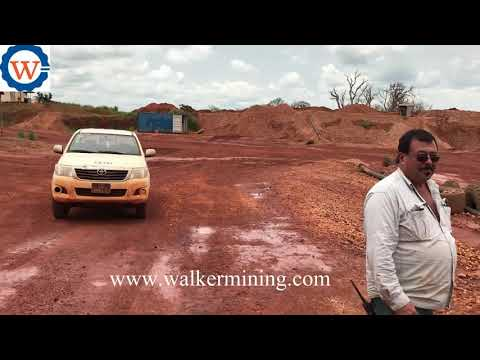 Alluvial Diamond Washing Plant In Angola CHITOTOLO  CUANGO mine site