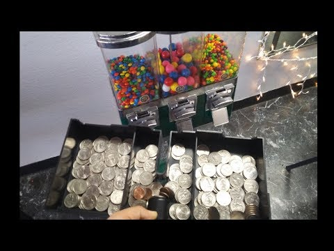 How much I made in my vending machine business in 1 month