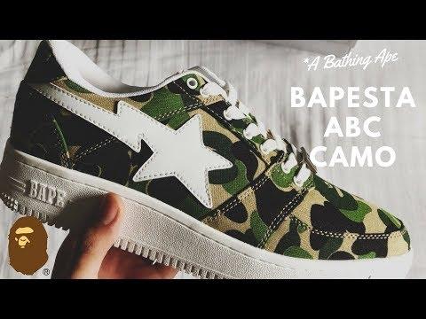 4083f81b4060 A Bathing Ape Bape Bapesta 1st Camo Sneaker Review