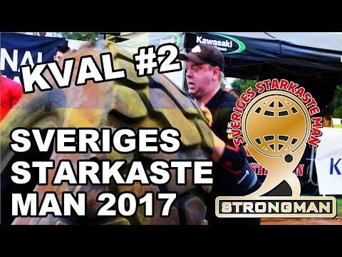 Sveriges Starkaste Man 2017 - Kval 2