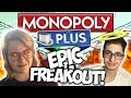 THE MOST DYSFUNCTIONAL GAME OF MONOPOLY EVER! RIDICULOUS FREAK OUT!