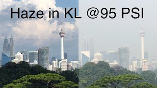 2019-09-15: Improved haze condition in Kuala Lumpur