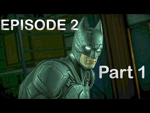 Batman The Enemy Within Episode 2 THE PACT Part 1 : Bane [PC] [1080p 60fps]
