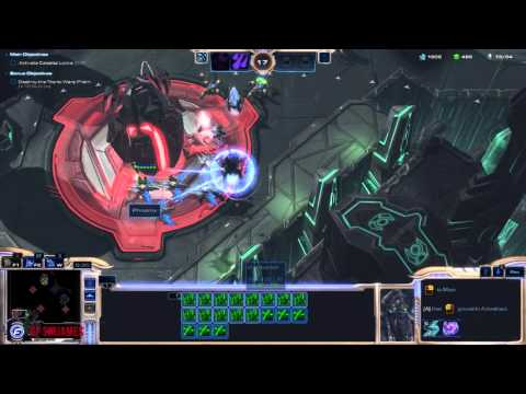 Starcraft II: Legacy of the Void Walkthrough Part 9 Temple of Unification