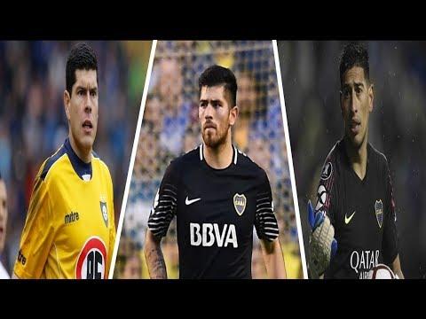 Carlos Lampe VS Agustín Rossi VS Esteban Andrada ● BOCA JUNIORS ● MEJORES ATAJADAS
