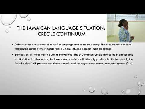 Lingual Interference and Language Teaching in  Creole Speaking Environments