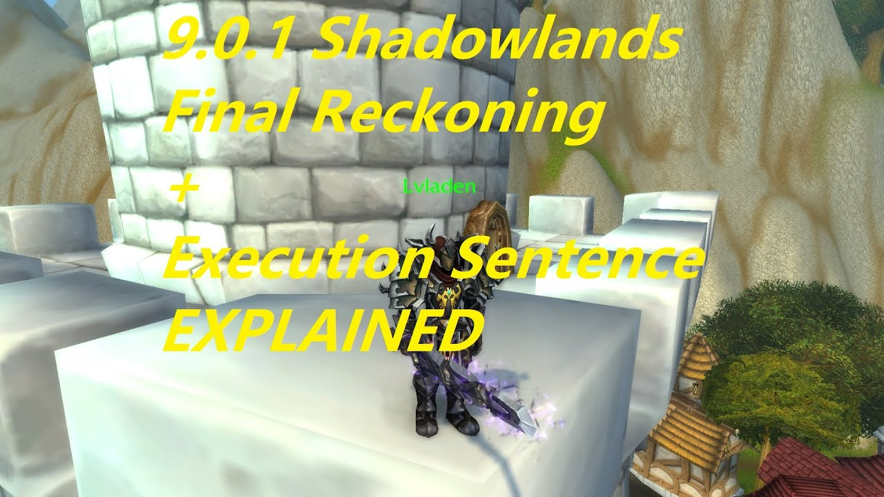 WoW 9.0.1 Shadowlands - Ret Paladin Burst Combo Guide/ Explained - Lvladen