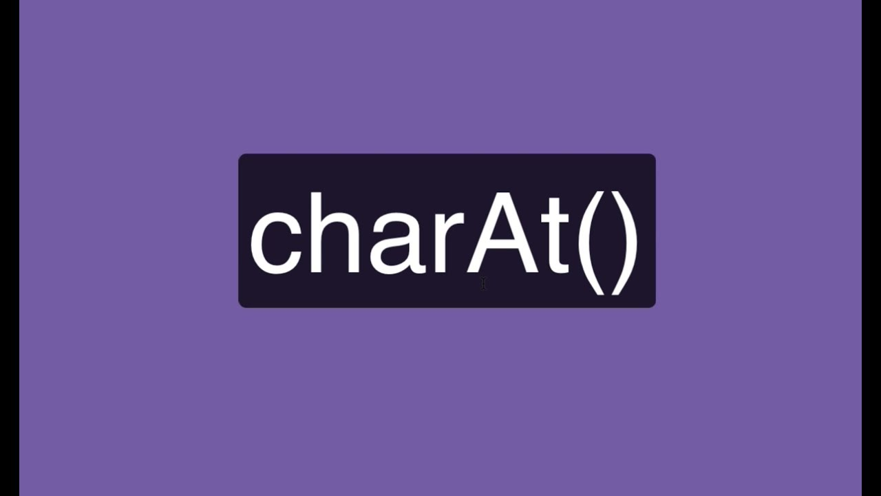 Introduction Javascript String charAt() Function with Examples