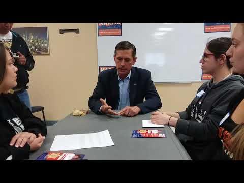 Interview with Senator Martin Heinrich