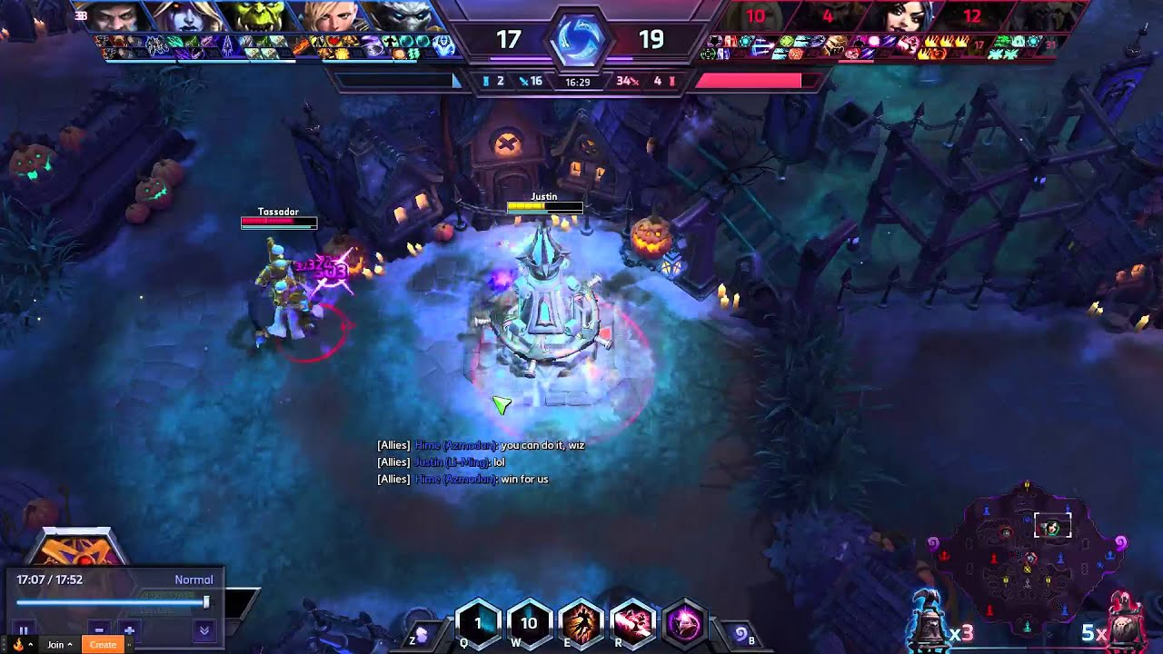 Heroes Of The Storm Li Ming Takedowns