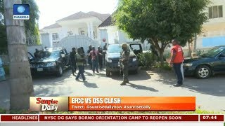 EFCC/DSS Clash: EFCC's Action 'Provocation', If Without A Warrant--Sobo |Sunrise Daily|