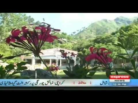 Safaid Mahal in Swat Valley Sherin Zada Express News swat