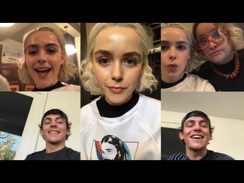 Kiernan Shipka & Ross Lynch  Instagram Live Stream  29 October 2018
