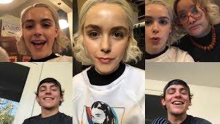 Kiernan Shipka & Ross Lynch | Instagram Live Stream | 29 October 2018